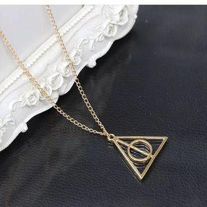 Jewelry - 3 left! ⚡️Harry Potter metal pendant necklace!!